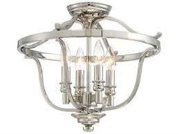 crystal semi flush mount lighting terrific semi flush mount chandelier of ceiling lights lighting