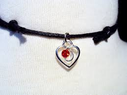 valentines necklace valentines day heart choker necklace heart necklace black
