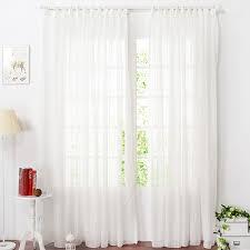 Light Yellow Sheer Curtains Cheap Striped White Sheer Curtains For Bedrooms Inside White Sheer
