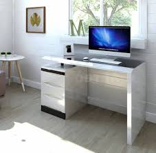 White High Gloss Computer Desk 15 Best Ideas Of White Gloss Computer Desk