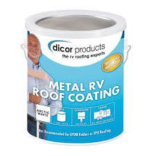 dicor elastomeric rv roof coating gallon dicor rp mrc 1 roof