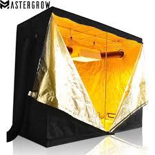 chambre hydroponique mastergrow 240x120x200 cm intérieur hydroponique élèvent la tente