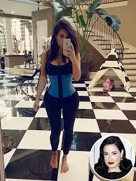 Who Leads The Blind Dita Von Teese Dislikes The Kardashian U0027s Waist Training Phase
