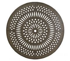 oval aluminum patio table mayfair by hanamint luxury cast aluminum patio furniture 39 x 52
