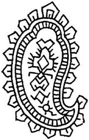 design pages to color paisley coloring pages free google search glass design images