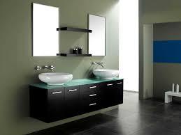 Modern Bathroom Vanities For Less Bathroom Chic Black Floating Vanity Bathroom Decoration With Two