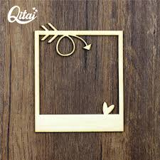 wood pieces wall shop qitai 12 pieces lot wood frame 2 mm thick plywood wall
