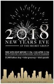 new years houston tx new years bash 2018 tickets the secret houston tx