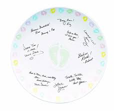 baby shower autograph plate wilton 1003 1020 baby autograph plate kit baby