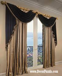 luxury bedroom curtains french curtains ideas modern luxury curtains black scarf
