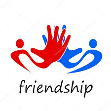 vector sign solidarity hands touching u2014 stock vector luckytd