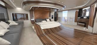 50 m wilkinson and foster yacht conversion design master cabin