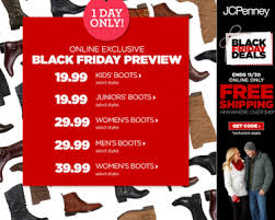 s boots for sale today only jcpenney black friday preview boot sale from