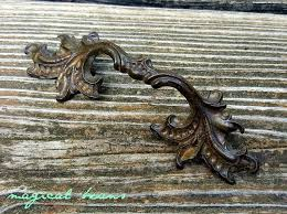 where to buy antique cabinet pulls antique keeler brass co antiqued gold provincial drawer pulls in solid brass