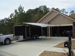 Enclosed Trailer Awning For Sale Awning On A Enclosed Trailer Question 13x Forums Race Trailer