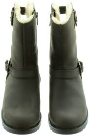 ugg womens grandle boots black ugg grandle calf boots in java in java