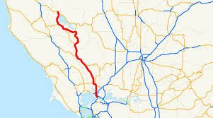 Sonoma State Map by California State Route 29 Wikipedia