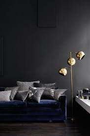 dark wall trend scout inky interiors and black walls we are scout