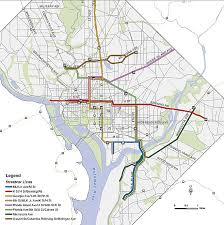 washington dc trolley map the dc streetcar routes explained