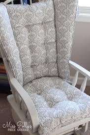 custom chair cushions wingback glider cushions 4 post