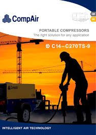 c series portable compressors compair pdf catalogue