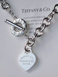 tiffany sterling necklace images Tiffany heart toggle necklace ebay jpg