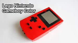 Youtube Red Color Lego Nintendo Gameboy Color With Instructions Youtube
