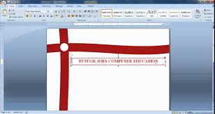 create cover page in microsoft office word tamil youtube templates