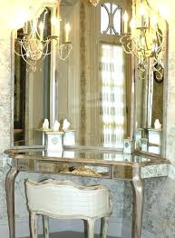 vanity dressing table with mirror mirrored vanity table ivanlovatt com