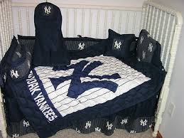 Yankees Crib Bedding Crib Nursery Bedding Set Made W New York Yankees Ny Nursery