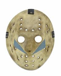Jason Voorhees Mask Friday The 13th Prop Replica Part 5 A New Beginning Jason Mask