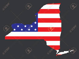State Map Of New York by Clickable Map Of New York City Ny United States New York State