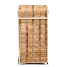 Laundry Room Accessories Storage by Bathroom Chic Bamboo Laundry Wicker Clothes Hamper Basket For