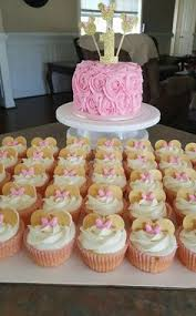 minnie mouse baby shower ideas pink and gold minnie mouse baby shower cake and matching cupcakes