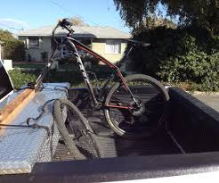 removable bike rack for truck toolbox 5 steps with pictures
