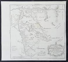 Africa Map Rivers 1755 Bellin Antique Map Western Mali Senegal And Niger Rivers In
