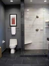 slate tile bathroom designs what i slate and subway tile in bathroom also glass shower