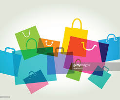shopping bags gift bags vector art getty images