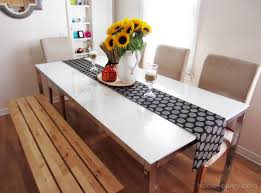 how to make table runner at home table runner ideas diy image of home design 7 fall cheap pinterest