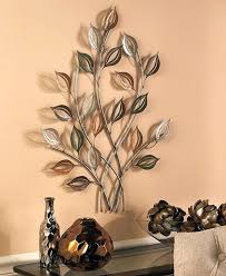 home decor wall sculptures decorative wall sculptures gold silver metal leaves wall sculpture