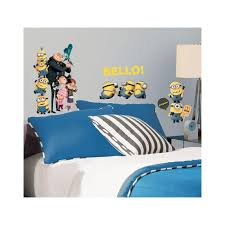 5 in x 11 5 in despicable me 2 peel and stick wall decals despicable me 2 peel and stick wall decals rmk2080scs the home depot