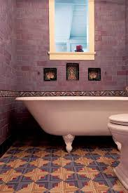 dazzling tile for art deco baths arts u0026 crafts homes and the revival