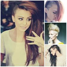 hair styles with both of sides shaved girls half shaved hairstyles for cute and trendy women best hair