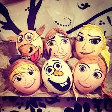 Frozen Easter Egg Decorating Frozen Eastereggs Eggdecorating