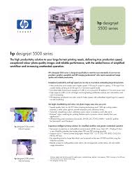 download free pdf for hp designjet 5500 printer manual