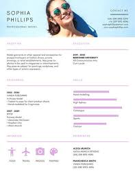 creative resume headers lavender photo header creative resume templates by canva