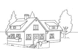 casa disegno oggetti villetta01