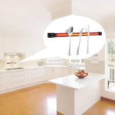 wall mount magnetic knife scissor storage holder chef rack strip
