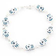 evil eye hand bracelet images Good luck hamsa hand blue eye bracelet raressimo jpg