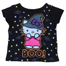 amazon com infant u0026 toddler girls black hello kitty halloween